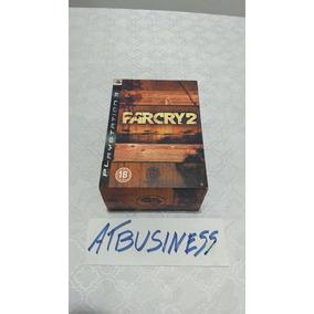 Ps3 Far Cry 2 Box Ed Limitada Jogo Lacrado Raridade