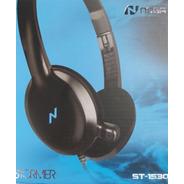 Auriculares Headset Noga St-1530 Ps4 Celular Con Microfono