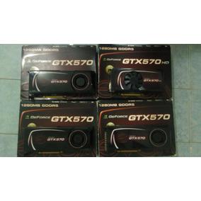 Evga Geforce Gtx 570 (4 Gpus, Excelente Estado)