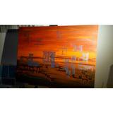 Pintura Abstracta 60 X 80 En Acrilico