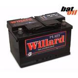 Bateria Willard 12x75 Ub740ag 12 Volt 75 Amper