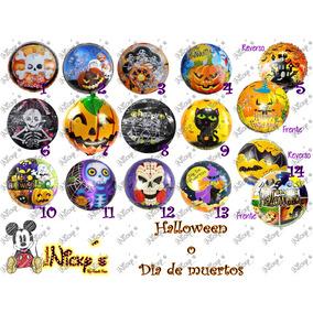 50 Globo Halloween Dia De Muertos De 45 Cm Redondo Envio Inc