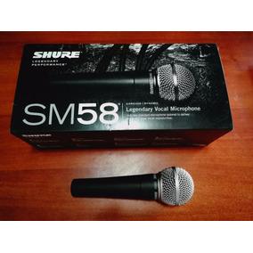 Microfono Shure Sm58 Remato 100% Nuevo Por Viaje