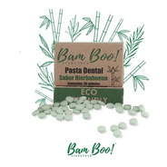 Pasta Dental Solida Tabletas Bam Boo! Lifestyle® Hierbabuena