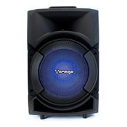 Bocina Vorago Ksp-300 Negro 8  Bluetooth/fm Recargable