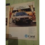Publicidad Volkswagen Carat Año 1988