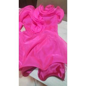 Vestido Fashion Pink Fluor