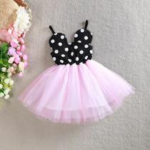 Vestidos Tutu De Minnie Para Niñas Bebes Cumpleaños Eventos