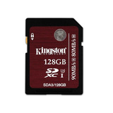 Cartão De Memória Kingston 128gb Sd Class3 Uhsi Sda3128gb