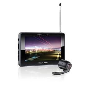 Navegador Gps Multilaser Com Câmera De Ré E Tv Digital Radio