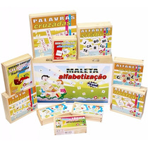 Maleta Alfabetização 10 Brinquedos Carlu
