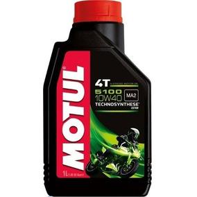 Óleo Motul 5100 10w40 Moto 4t Semi Sintético 1l