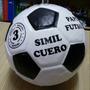 Pelota Papi Fútbol Futsal Cuero Sintético Tsp Nro 3