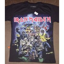 Camisa Piticas - Iran Maiden