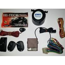 Alarme Hi Tech Carro Com 02 Controles E Ultra-som