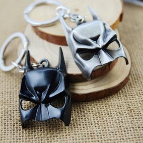 Chaveiro Metal Máscara Batman - Preto Dc Comics