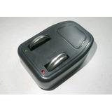 Carregador De Bateria + Bateria Lir 2450 Serve Em Oximetro