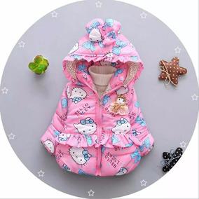 Chamarra Diseño De Hello Kitty Para Niña Con Gorro Capucha