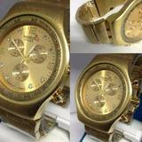 Relojes Swatch Dorado Acero Nuevos