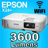 Proyector Epson X36+ 3600 Lumens Wifi 12 Cuotas S/int Local
