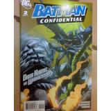 Comics Batman Confidential 2 Vs Lex Luthor Original Dc
