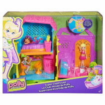 Polly Pocket Casa Club De Polly-mattel
