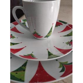 Hogar y muebles hermosas vajillas navidenas en mercado libre m xico - Vajillas navidenas ...