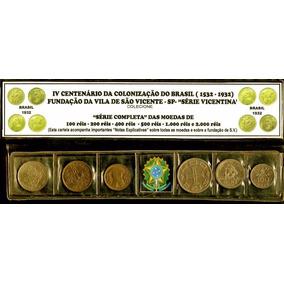 *moedas Série São Vicente, Raras, F.c. Display*