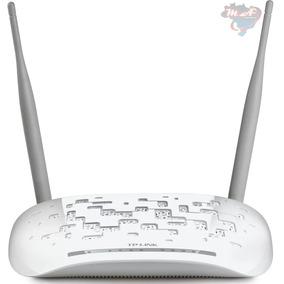 Modem Roteador Adsl2 Tp-link Td-w8961n Wireless 300mbps / 2