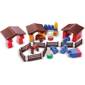 Brinquedo Para Montar Fazendinha 53 Pecas