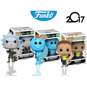 Rick, Meeseeks & Morty Funko Pop Caricatura Rick And Morty