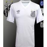 ec59695af0ef3 Camisa Retro Santos Futebol Clube Adidas - Camisas de Futebol no ...