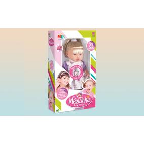 Boneca Infantil Meguinha 62 Frases - Milk Brinquedos