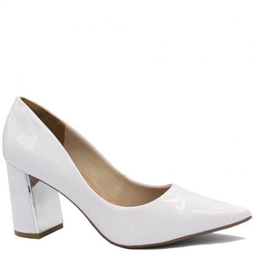 9fa9c0871c Sapatos Bebece Revender - Scarpins para Feminino Branco no Mercado ...