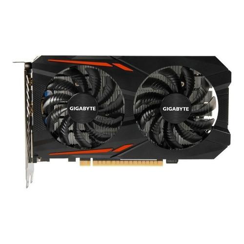 Placa de video Nvidia Gigabyte  GeForce 10 Series GTX 1050 Ti GV-N105TOC-4GD OC Edition 4GB