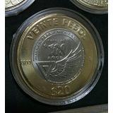 Moneda 20 Pesos Aniversario Fuerza Aerea