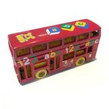 London Bus Matchbox Inglés Abc Colección 1/64