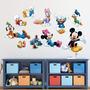 Adesivo Decorativo De Parede Infantil Turma Do Mickey Disney
