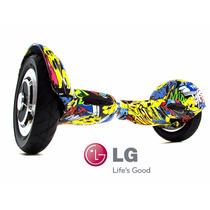 Hoverboard Power Board Skate Elétrico Aro 10 Bateria Lg