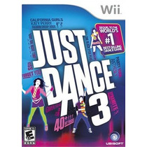 Just Dance 3 Nintendo Wii Nuevo Sellado Envio Gratis