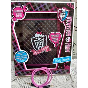 Diário Eletrônico Secreto Monster High Mattel(brinde Cabo)