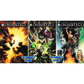 Dc Comics Injustice Deluxe Año 1 2 3 Justice League Batman