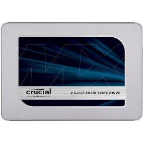 Disco Sólido Ssd 3d Crucial Mx500 500gb 6gb/sg 2.5 Sata