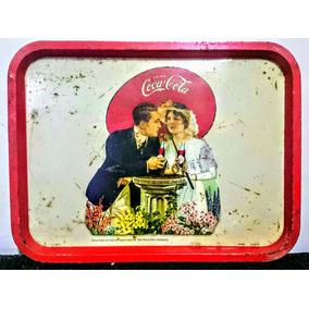 Bandeja Retro De Coca Cola - Hecha En Chapa