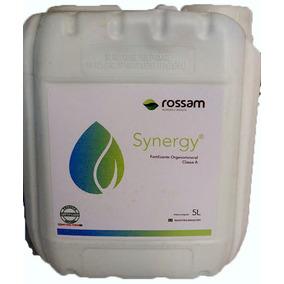 Synergy Fertiliza Biológico Reestruração Solo E Foliar 5 Lts