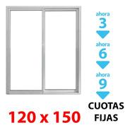 Ventana Corrediza Alum 120x150cm