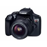 Cámara Réflex Canon Eos Rebel T6 18mp Cuerpo + Lente 18-55mm