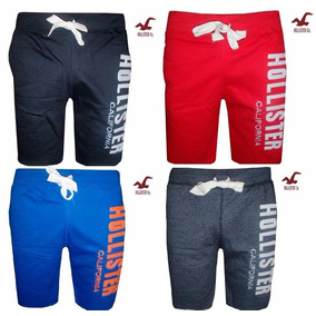 Kit 5 Bermuda Short Moleton Hollister Atacado R$32,00 Oferta