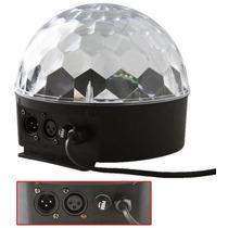 Bola Maluca Led Rgb Holográfico 24w Dmx 8ch Ball Light