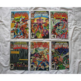 Secret Wars I 1984 Coleccion En Ingles Spider-man X-men Thor